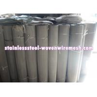 Buy cheap Mesh 7 - 500 Stainless Steel Filter Screen , Customized Stainless Steel Mesh In from wholesalers