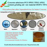 polyoxyethylene ether--TPEG with Low Slump Loss used in Concrete Water Reducer Production Manufactures