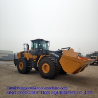 Construction 6400mm LW1000KN 5m3 10t Wheel Loader Manufactures