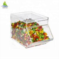 Promotional Acrylic Candy Display Custom Acrylic Candy Box Environmentally Friendly Manufactures