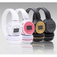 Cheap Digital Over Ear Headsets Noise Cancelling Rechargeable Battery for sale
