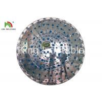 Blue Durable Adult Inflatable Grass Rolling Zorb Ball With Customized Logo Manufactures