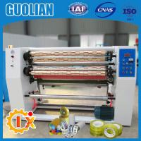China GL-215 Factory outlet bopp tapes slitting and rewinding machine on sale
