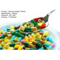 China Ferrous Sulfate Tablets 200mg Oral Medications on sale