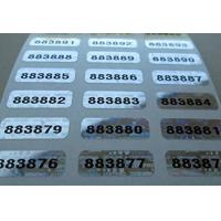 Self Adhesive Security Sticker Labels Scratch Off Custom Printing Manufactures