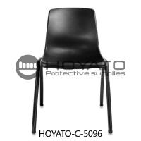 Comfortable No Oxide Dustless ESD Anti Static Plastic Cleanroom Chairs Customized Accept Manufactures