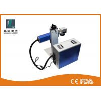 Barcode Laser Printing Laser Etching Metal Marking Machine Durable