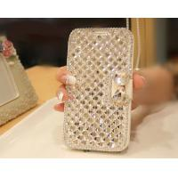 Cheap Extreme Deluxe Bling Diamond Bowknot Leather cell Phone Cases , Samsung S3 Cases for sale