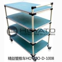 OEM / ODM ESD Consumables Oil Resistant Non Toxic Turnover Box With Lean Pipe Manufactures