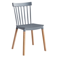 Plastic Pipe SGS 810 Mm Metal Dining Room Chairs Manufactures