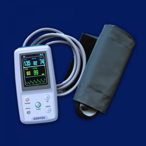 ICU patient monitor PM50 24 H Ambulatory Blood Pressure Monitor,SPO2+SW,3 Cuffs,NIBP Manufactures