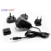 5V 2A  Interchangeable Power Supply Wall Mount Type Low Ripple Noise Manufactures
