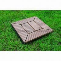 DIY Outdoor Flooring, WPC Deck Tile, Moisture-/Water-resistant, Available in Various Colors Manufactures