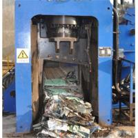 China Automatic Scrap Shear Baler For Copper 3 - 4 Times / Min Cutting Frequency on sale