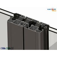 Alloy 6063 T5 Thermal Break Aluminium Extruded Profile 1.2 Milimeter Thickness Manufactures