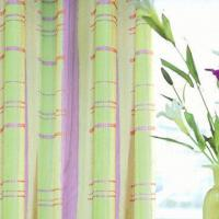 Fire-resistant Satin and Blackout Curtain with 173 x 60 Density, Different Colors are Available Manufactures