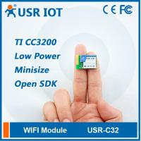 Industrial Low Power TI CC3200 Wifi Module with Internal/External Antenna Manufactures