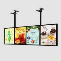 China Free Standing Advertising Backlit LED Light Box With Built - In High Power Strips And Driver on sale