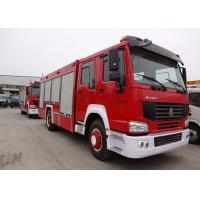 Water Tank Fire Fighting Vehicles 8-12 CBM 290 HP Emergency Rescue Vehicles Manufactures