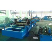 High Speed 0 - 25m / min Corrugated Roll Forming Machine Fly Cutting No Stop Manufactures