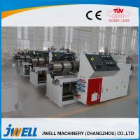 Door Board WPC Extrusion Line Full Automation PLC Touching Screen Manufactures