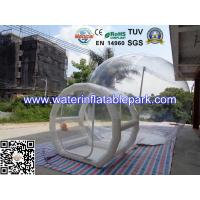 Clear Inflatable Bubble Tent For Camping /  Inflatable Party Tent Manufactures