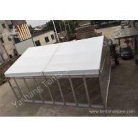 Small Transparent Glass Wall Custom Event Tents , Corporate Event Tent Manufactures