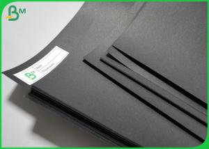 A4 Sheet 250gsm 300gsm Black Cardstock Paper Board full Colored Cardboard Manufactures