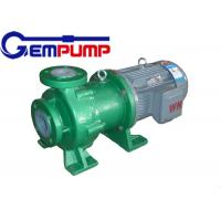 Industrial / chemical resistant teflon lined magnetic drive pump Manufactures