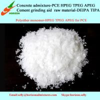 Buy cheap polymer raw material HPEG TPEG APEG MPEG for polycarboxylate water reducer from wholesalers