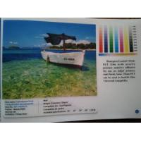 Quality Self Adhesive Front Printing Backlit Film (waterproof) for sale