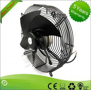 Sheet Steel Ventilation Ec Axial Exhaust Fan , Industrial Blower Fans High Volume Manufactures