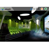 Special Effect Large Curved Screen 5D Movie Theater Dynamic Chair Manufactures