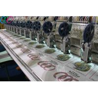 Clothing Flat Bed Sequin Embroidery Machine , Digital Computer Embroidery Machine 1000SPM Manufactures