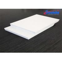 China Furniture 10mm Foam PVC Sheet , Advertising Display Non Toxic Polyvinyl Chloride Foam on sale