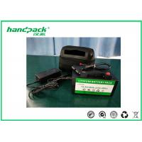 12V 18Ah Rechargeable LiFePO4 Golf Trolley Battery Pack With 2 Years Warranty Manufactures
