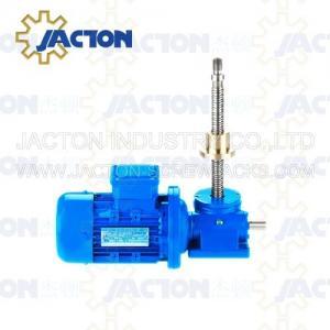 China 15T Machine Screw Jack Lifting Screw Diameter 58MM Lead 12MM Gear Ratio 8:1 and 24:1 on sale