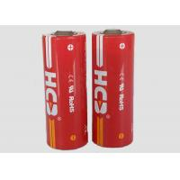 2800mAh High power Lithium Thionyl Chloride Cell , Li-SOCl2 Battery For Heat Meter Manufactures