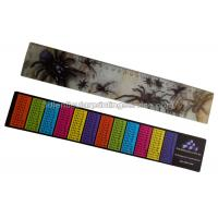 PET / PP Printing Customised 3d Lenticular Ruler For Student Flip Effect Manufactures