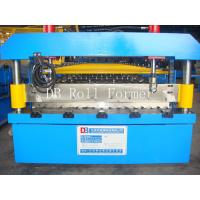High Performance Corrugated Roll Forming Machine Driven by Chain in Hydraulic System