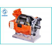 China Construction Machinery Hydraulic Piston Pump High Speed With Two Drainage Ports on sale