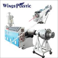HDPE gas pipe machine , HDPE water supply pipe machine Manufactures