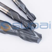 2 Flutes Solid Carbide Tungsten CNC Milling Cutter  End Mill Cutters for CNC Milling Machine Manufactures
