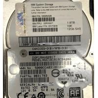 China IBM 00RX927  Sata Server Hard Drive , 1.8TB  12GB SAS 2.5 Server Hard Drive  HS HDD 00MN526 on sale