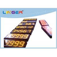 Cheap 88888 Led Fuel Price Signs , Electronic Gas Price Signs For Service Station for sale
