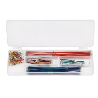 140 Pcs / Set Breadboard Jumper Kit with Different Colors U Shaped Wires Manufactures
