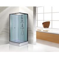 Free Standing Square Corner Shower Stall Kits SGS ISO9001 Certification