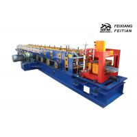 C / U / Z Purlin Roll Forming Machine PLC Control For Steel Structure Manufactures