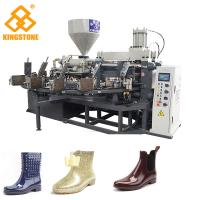 China PLC Control Plastic Shoes Making Machine For Short lady's Fashion Boots / Slipper / Sandals on sale