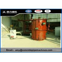 High Reliability Precast Concrete Forms , Rcc Pipe Making Machine Faster Production Manufactures